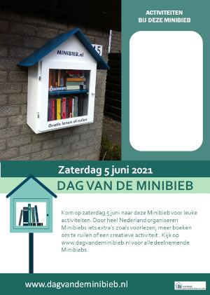 Poster Dag van de Minibieb - 2021